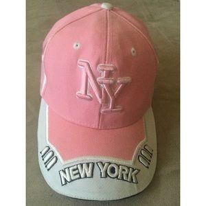 Pink NY Cap